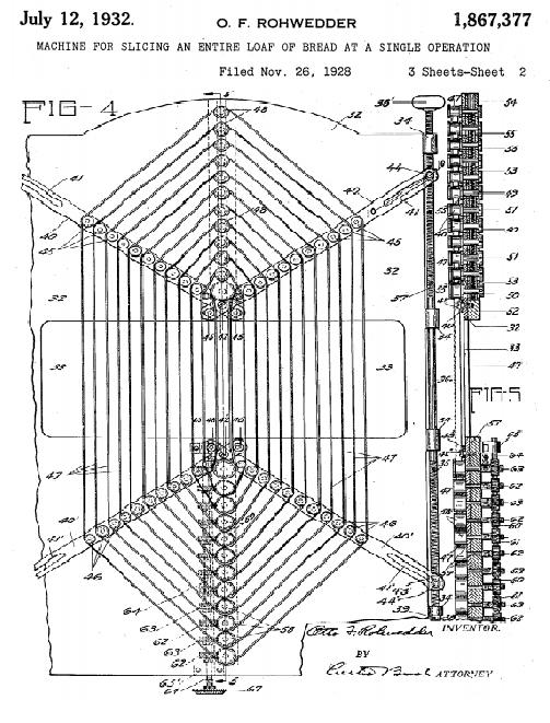 Otto Rohwedder's patent image